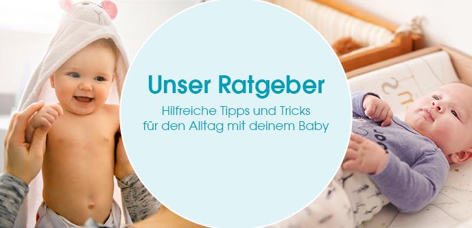 Hilfreiche Tipps und Tricks für den Alltag mit deinem Baby