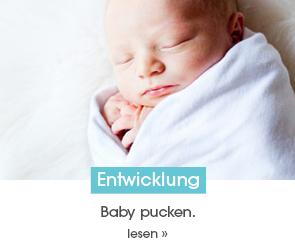 Baby pucken