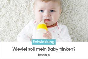 Wieviel soll mein Baby trinken?