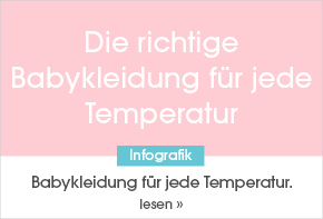 Babybekleidung für jede Temperatur