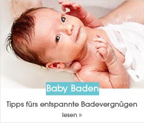 Schaue dir jetzt unseren Ratgeberbeitrag zum Thema Baby Baden an