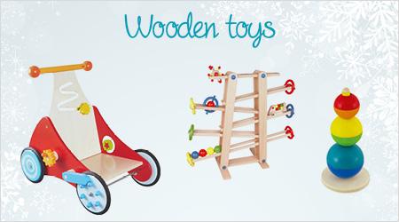 Holzspielzeug verschenken