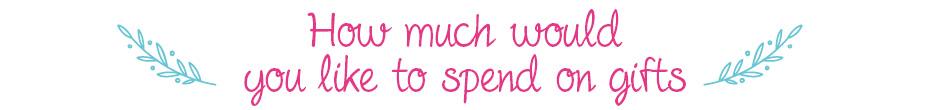 Geschenkideen nach Budget