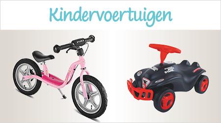 Kindervoertuigen voor kleine racemonsters