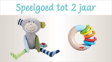 Speelgoed voor kleintjes tot 2 jaar