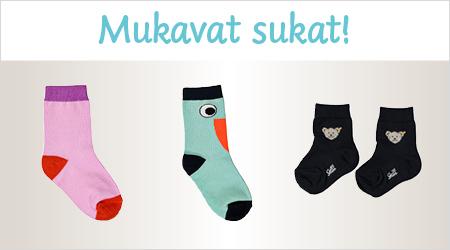 Mukavat sukat!