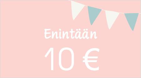 Enintään 10 €
