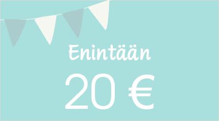Enintään 20 €