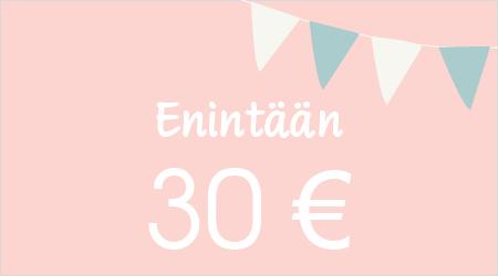 Enintään 30 €