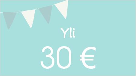 Yli 30 €