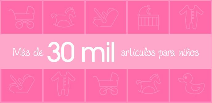 Más de 30 mil artículos para niños