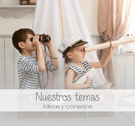 Nuestros Temas: Bienvenida del bebé, colores, vacaciones, juegos al aire libre...