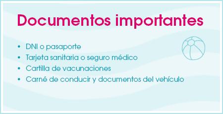 Documentos importantes para viajar con niños