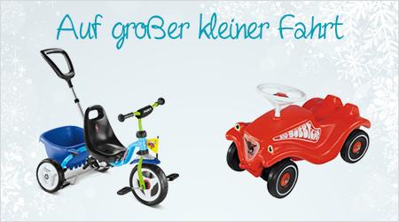 Kinderfahrzeuge verschenken
