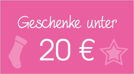 Geschenke unter 20 Euro