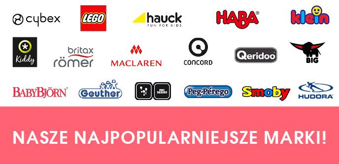 Nasze najpopularniejsze marki!