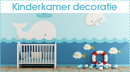 Kinderkamer decoratie