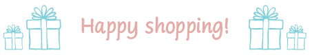 Happy shopping pinkorblue