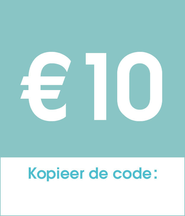 €10 korting op je bestelling
