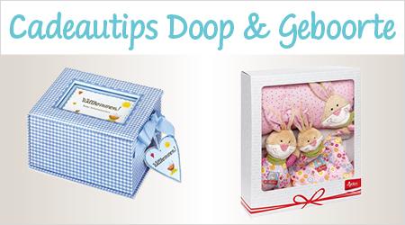 Cadeautips Doop & Geboorte