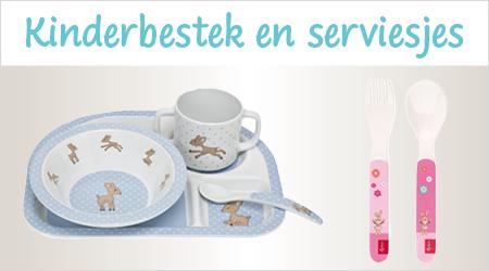 Kinderbestekjes en serviesjes