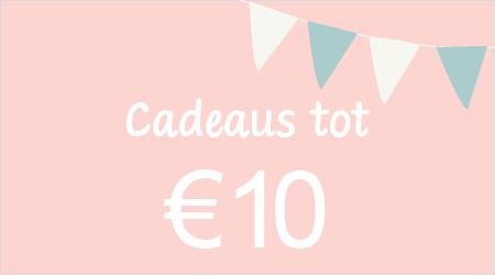 Cadeaus tot €10