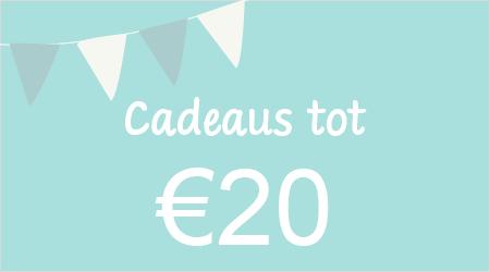 Cadeaus tot €20