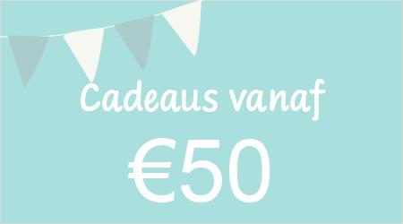 Cadeaus vanaf €50