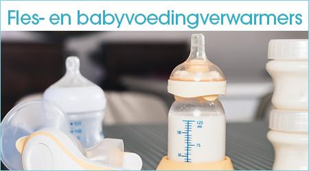 Babyvoeding en flesverwarmers