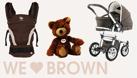 Thema we love colors bruin