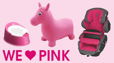 Thema we love colors roze