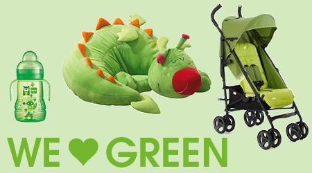 Thema we love colors groen
