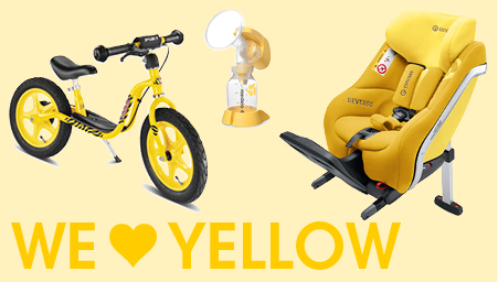 Thema we love colors geel