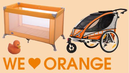 Thema we love colors oranje