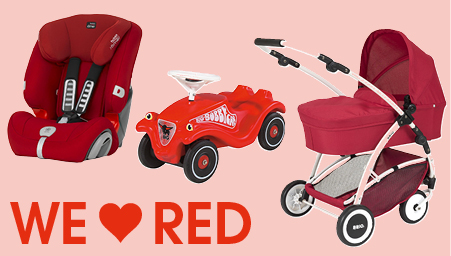 Thema we love colors rood