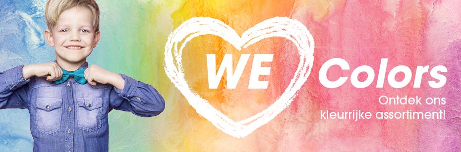Thema we love colors