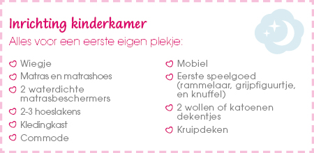 Tips inrichting kinderkamer