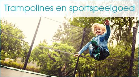 Trampolines en sportspeelgoed