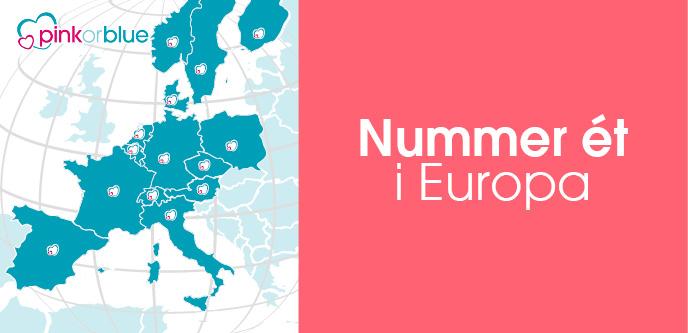 Nummer ét i Europa