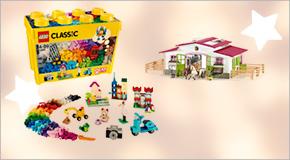 Over 8.600 legetøjsartikler!