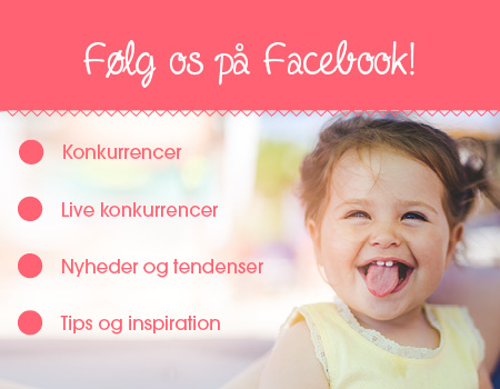 Følg os på Facebook!