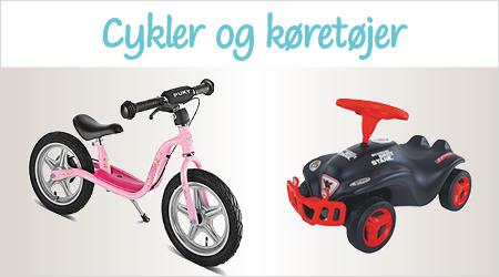 Cykler og køretøjer