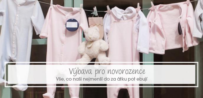 Základní výbava pro miminko