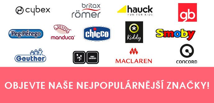 Objevte naše nejpopulárnější značky!