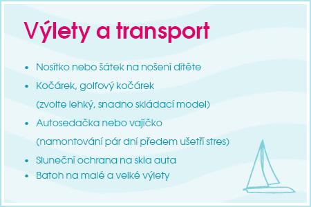 Výlety a transport