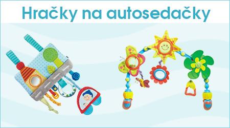 Hračky na autosedačky