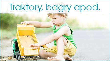 Traktory, bagry, apod.