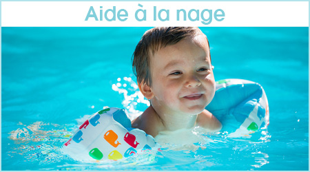 Aide à la nage pour enfant