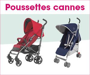 poussettes cannes