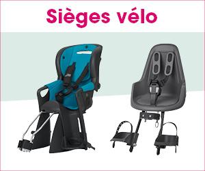 sièges vélo